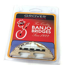 "Grover #91 Acousticraft™ Tenor 4-string Banjo Bridge 3-Legged 5/8"" Tall GB-91"