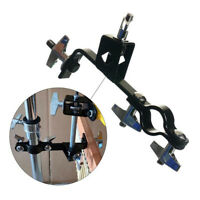 Percussion Holder Wind Chime Mount with Clamp Connecting Rod Accessories Set