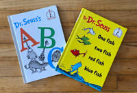 Dr.SUESS ONE FISH TWO FISH RED FISH BLUE FISH, ABC Beginner Books