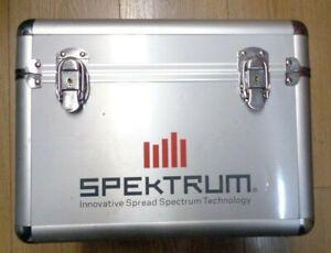 Spektrum alloy Single Aircraft Transmitter Case (Spektrum6722) good condition