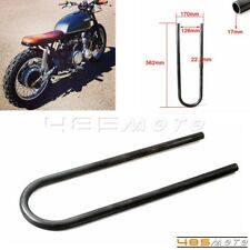 "Rear Seat Hoop Loop Frame 7/8"" Tube For Honda Yamaha Suzuki BMW Brat Cafe Racer"