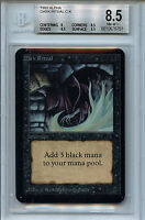 MTG Alpha Dark Ritual BGS 8.5 NM-MT+  Magic Card 7608 Amricons