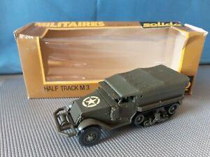 HALF TRACK  M3. SOLIDO. BOITE REF 244.  1/50