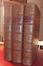 Jean Baptiste ROUSSEAU - OEUVRES - 3 vols - 1743 - RARISSIME ET SUPERBE