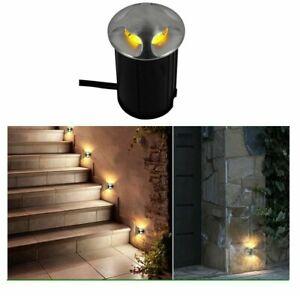 LED Underground Light Outdoor Recessed Deck Lamp Sidewalk IP68 3W 5W Garden AC