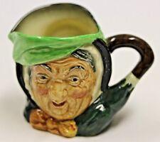 """Royal Doulton - Sairey Gamp Small 3 1/4"""" Toby Character Figure Mug"""