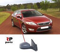 FOR MONDEO MK4 07-10 WING MIRROR ELECTRIC HEATED PRIMED RIGHT LHD WITH LIGHT