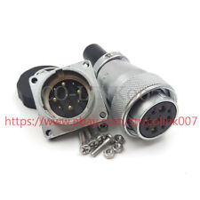 WS28 9 Pins Aviation Connector,Bulkhead Connector Signal Power Cable Connector