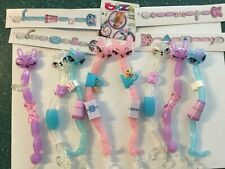 Lot of 12 Bizu Twist On Beads Umagine Glam Wrist Animal Toy Bracelet Jewelry