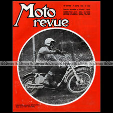 MOTO REVUE N°1882 TORSTEN HALLMAN, JOEL ROBERT, CRITERIUM VITESSE AU MANS 1968