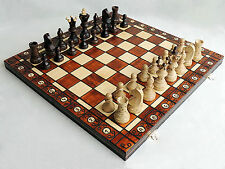 Nuevo embajador de ajedrez de madera de haya Grande Set 52cm