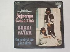 "SHUKI UND AVIVA -Signorina Concertina- 7"""