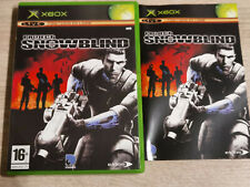 PROJECT SNOWBLIND XBOX (XBOX 360 ONE S X SERIES X)