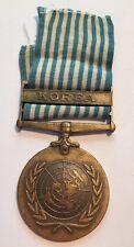 Vintage United Nations Korea Service Medal USA Military