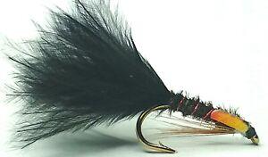 DIAWL BACH MARABOU NYMPH TROUT FISHING FLIES - SIZE 10