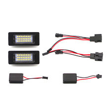 2x LED License Plate Light Lamps CANBUS for Audi A1 A5 A6 A7 Q5 TT TTRS