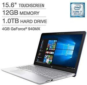 HP Pavilion 15-cc183cl Touch i7-8550U 12GB 1TB HD 940MX WIN 10