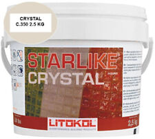Starlike Crystal Glass Grout 2.5 Kg Commercial/Residential Indoor/Outdoor Clear