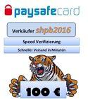 Paysafe Card, Paysafecard 100€  für 122€ -- Sofortversand 9-23Uhr + 24h Service <br/> Tigerpower!! -- 24 Stunden Service auf Anfrage