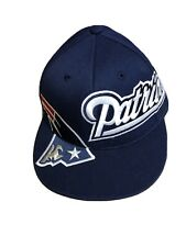 New England Patriots NFL Hat Baseball Cap New With Tags NWT Reebok 210 Fitted
