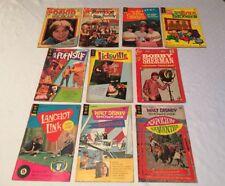 10 Vtg GROOVY COMIC BOOKS 15-20¢ H.R. PUFNSTUF Lidsville BOBBY SHERMAN D CASSIDY