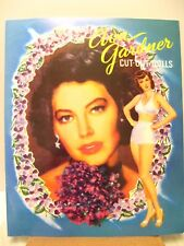 PAPER DOLLS Doll Book AVA GARDNER Movie Star Clothes FEMME FATALE MGM Studio