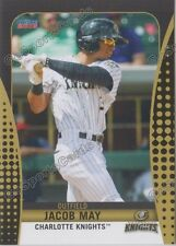 2016 Charlotte Knights Jacob May RC Rookie White Sox