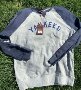 New York Yankees Mitchell & Ness MLB Men's Crew Sweatshirt NY Yankees sz XL NWT