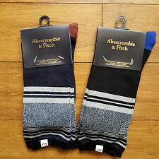 Lot of 2 pairs Abercrombie and Fitch womens shine socks one size