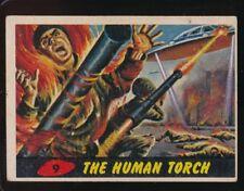 1962 TOPPS  MARS ATTACKS  VG-EX  THE HUMAN TORCH  #9   102717