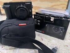 Panasonic DMC-GX85K BODY Lumix GX85 16MP Mirrorless Camera W/ ManFrotto Case