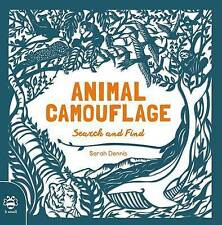 Animal Camouflage (Search & Find),Sam Hutchinson,New Book mon0000106151