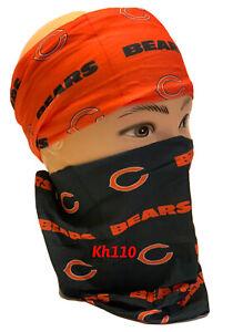 Chicago Bears NFL Face Mask Bandana Balaclava Headwear Neck Scarf