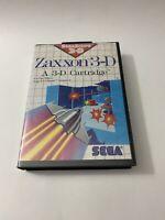 Zaxxon 3-D (Sega Master, 1988) very nice! SEGA,with Manual