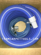 "25 FT. 1.5"" Carpet Cleaning Extractor Vacuum & 25 FT. 1/4"" Solution Hose w/ QDs"