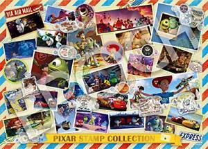 Pixar Stamp Collection Jigsaw Puzzle Pop Up Puzzle Decoration 500 Pieces