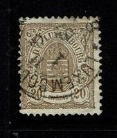 Luxembourg SC# 45, Used - S4045