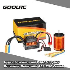 GoolRC Upgrade Waterproof F540 4370KV Brushless Motor w/ 45A ESC Combo Set X5T0