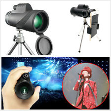 HD Monocular 40x60 Zoom Great Phone Handheld Telescope Kit Night Vision Military