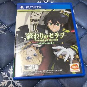 PS Vita OWARI NO SERAPH Seraph of the End BANDAI NAMCO Playstation Vita Japan