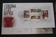 SINGAPORE General Post Office of Singapore 2017 FDC First Day Cover Stamps