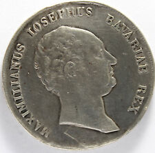 ALLEMAGNE BAVARIA MAXIMILIAN IV THALER 1809