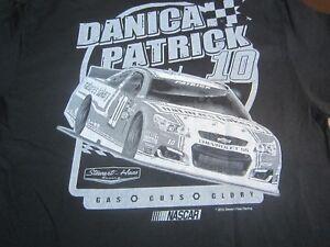 Danica Patrick NASCAR  T-Shirt  #10 Stewart-Haas Racing   Large NEW  R0