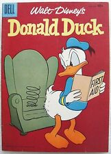 "DONALD DUCK #52 VF Comic 1957 ~ ""Lost Peg-Leg Mine"" by CARL BARKS"
