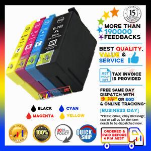 Any 1x NoN-OEM 702 XL 702XL Ink for Epson Workforce WF-3720 WF-3725 WF-3730