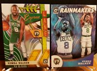 Kemba Walker 2019-20 Donruss Optic Rainmakers & Express Lane Boston Celtics