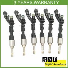 6PCS Fuel Injectors FX23-9F593-AC For Jaguar F-Type XJ XF 2013-2015 3.0L V6