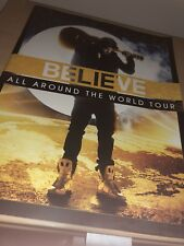 JUSTIN BIEBER BELIEVE TOUR PROGRAMME - Authentic 2012 Concert Book