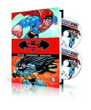 SUPERMAN / BATMAN: PUBLIC ENEMIES HARDCOVER Blu Ray DVD Set Book & Movie DC HC