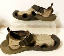 Crocs Men's Brown Closed Toe Water Sandals Size 12M(15041)